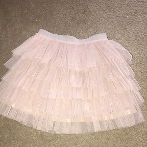 Cutest Zara pink tulle tutu with elastic size 8